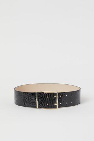 H&M Cintura pitonata