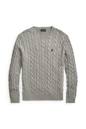 Polo Ralph Lauren Uomo Cardigan - Maglia in cotone a trecce