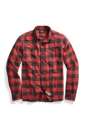 RRL Uomo Casual - Camicia scozzese in twill
