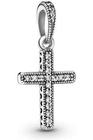 PANDORA Pendente Croce Scintillante