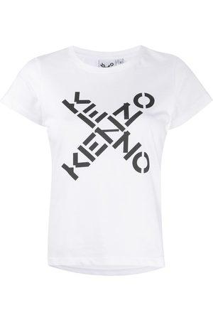 Kenzo T-shirt con logo - Di colore