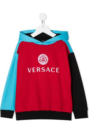VERSACE Felpa con design color-block
