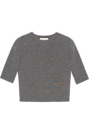 Gucci Maglia in cashmere con Morsetto