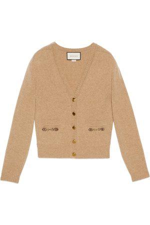 Gucci Cardigan in cashmere con Morsetto
