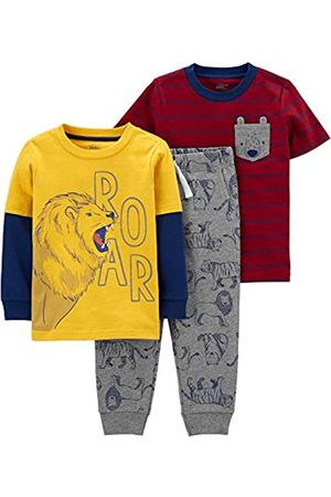 Simple Joys by Carter's Set da Gioco 3 Pezzi. Infant-And-Toddler-Clothing-Sets, Leone/Orso, 12 Months