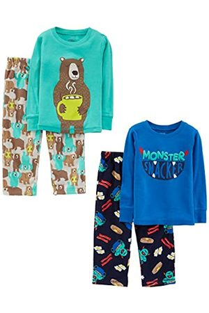 Simple Joys by Carter's 4-Piece Set Infant-And-Toddler-Pajama-Sets, Monster/Bear, 5T