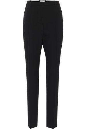 Givenchy Donna Eleganti - Pantaloni slim a vita alta in lana