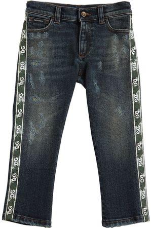 Dolce & Gabbana Bambino Jeans - Jeans In Di Cotone Stretch