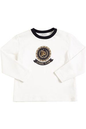 Dolce & Gabbana T-shirt In Jersey Stampato