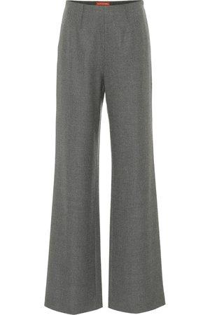 Altuzarra Pantaloni Luther a vita alta in lana