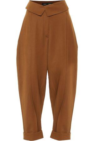 Proenza Schouler Pantaloni a vita alta in lana