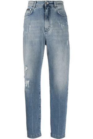 Dolce & Gabbana Jeans boyfriend con effetto vissuto