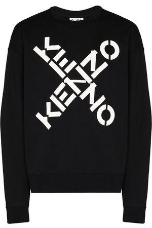 Kenzo Uomo Felpe - Felpa oversize con stampa