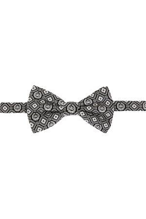 Dolce & Gabbana Papillon con stampa geometrica