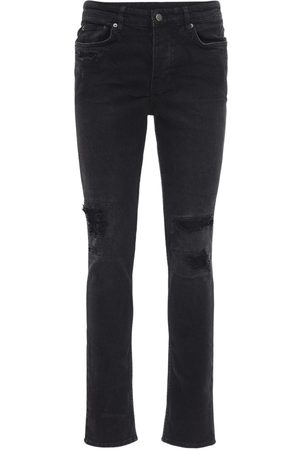 "KSUBI Jeans Slim Fit ""boneyard"" In Denim Di Cotone"