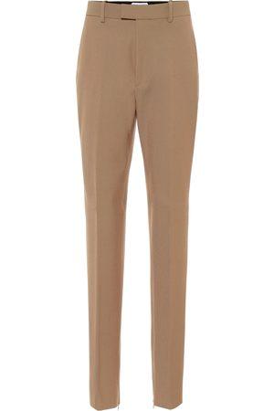 Bottega Veneta Pantaloni slim in cotone