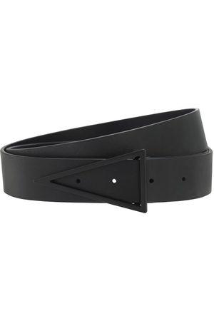 Bottega Veneta Cintura In Pelle Con Fibbia 3cm