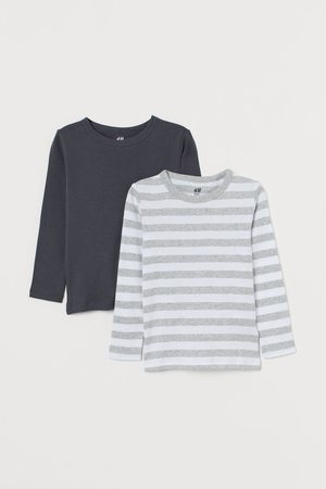 H&M Bambino Top - Maglie in jersey, 2 pz