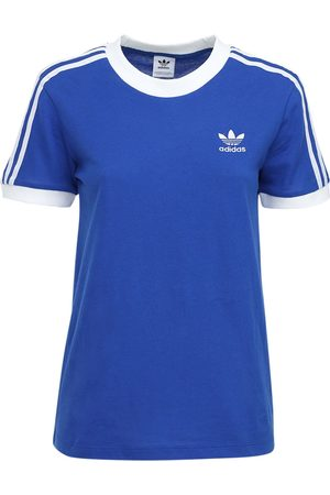 "adidas T-shirt ""3 Stripes"" In Cotone"