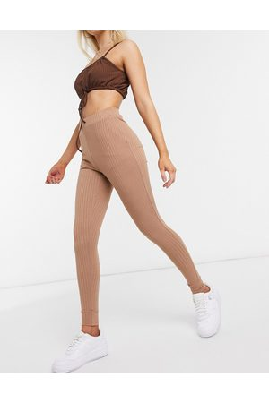 Love & Other Things Leggings a coste cammello