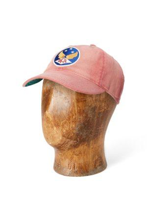 RRL Cappellino baseball con logo alato