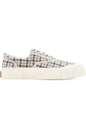 "Good News Uomo Sneakers - Sneakers ""opal"" In Cotone Check"