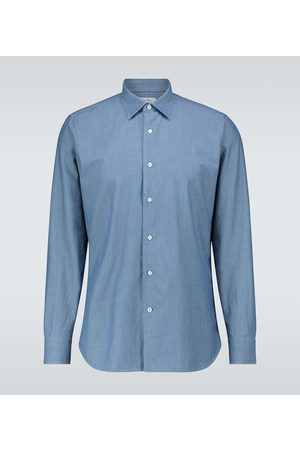 Loro Piana Camicia di jeans Arthur Preston