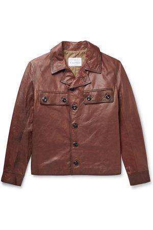 KINGSMAN Uomo Giacche di pelle - Burnished-Leather Jacket