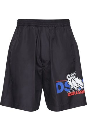 "Dsquared2 Shorts ""ovo Capsule"" In Techno"