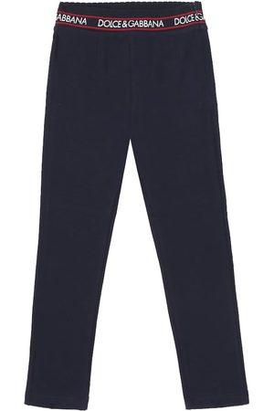 Dolce & Gabbana Leggings in cotone stretch
