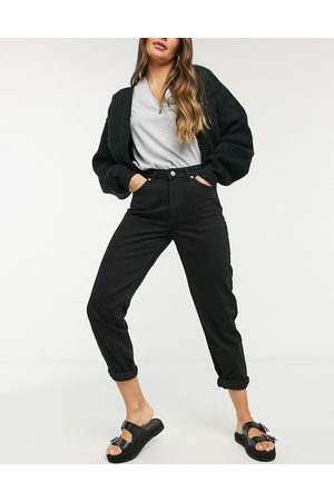 Bershka Mom jeans neri