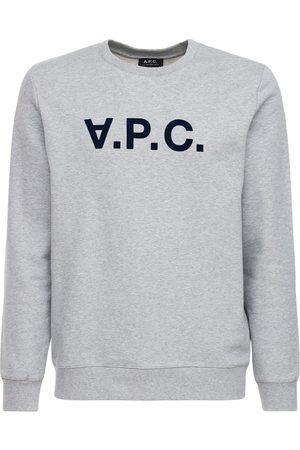 A.P.C Maglia In Cotone Con Logo