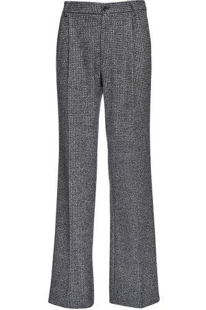 Dolce & Gabbana Pantaloni In Misto Lana 25cm