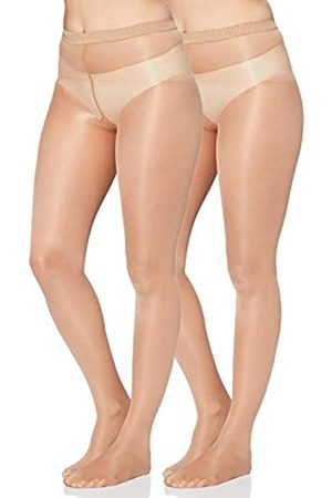 IRIS & LILLY By Wolford Calze Donna, Pacco da 2, , M, Label: M