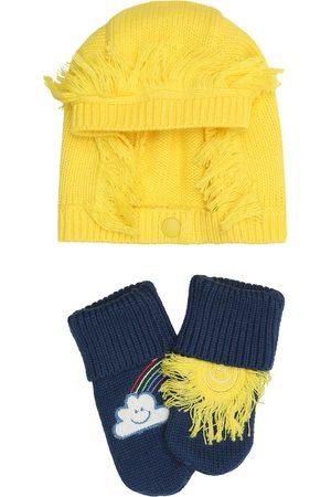 Stella McCartney Baby - Berretto e calzini in cotone e lana