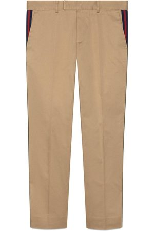 Gucci Pantalone 60s con nastro Web