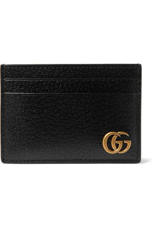 Gucci Uomo Portafogli e portamonete - GG Marmont Full-Grain Leather Cardholder with Money Clip