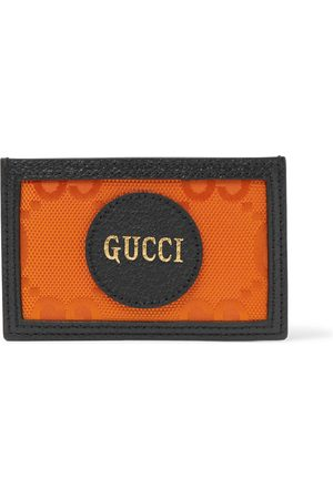 Gucci Uomo Portafogli e portamonete - GG Off The Grid Monogrammed Leather-Trimmed ECONYL Cardholder