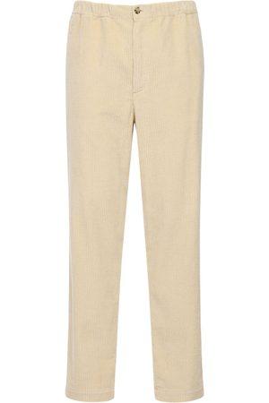 Kenzo Pantaloni In Velluto Millerighe 17.5cm