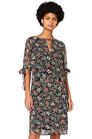 TRUTH & FABLE Donna Vestiti - Marchio Amazon - Vestito A-Line in Chiffon Donna, ., 44, Label: M