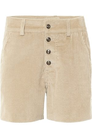 Etro Shorts a costine in velluto