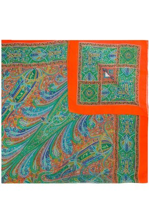 Yves Saint Laurent Foulard con stampa paisley