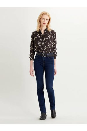 Levi's 724™ High Waisted Straight Jeans Dark Blue / Bogota Sassafras