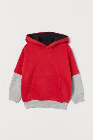 H&M Felpa cappuccio color block