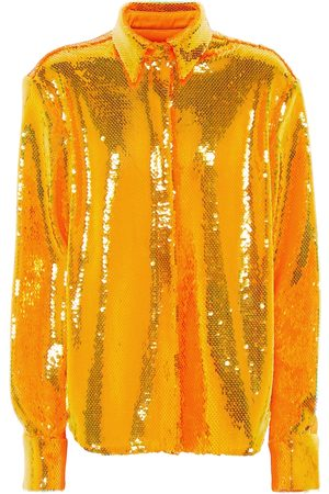 ALEX PERRY Donna Camicie - Camicia Tyler con paillettes