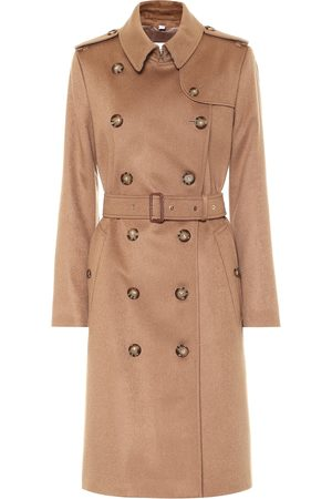 Burberry Donna Impermeabili - Trench Kensington in cashmere