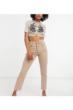 Reclaimed Vintage Inspired - The 91' - Mom jeans color sabbia