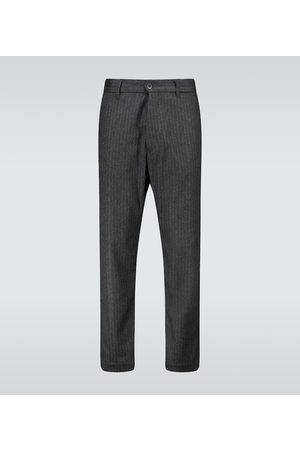 BARENA Pantaloni Rostro Filotto in lana