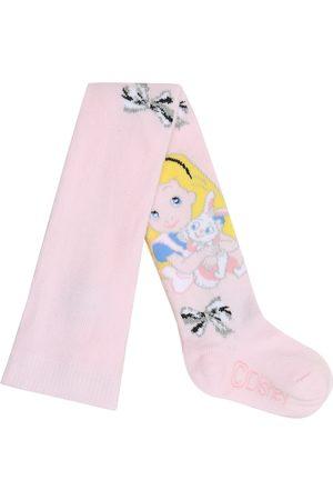 MONNALISA X Disney® - Collant Alice in cotone