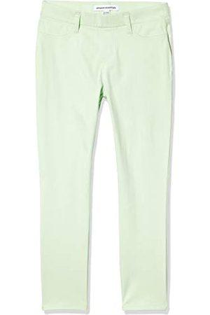 Amazon Pull-on Knit Capri Jegging Pants, Menta Brillante, XX-Large Long